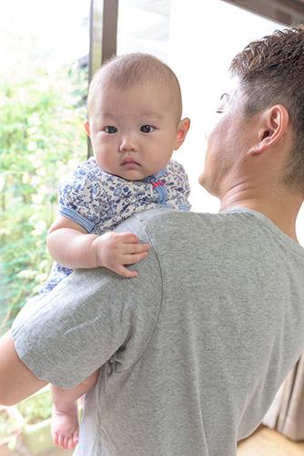 出張フォトで親子の写真